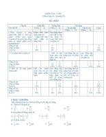 Kiểm tra toán 6 chương 3 (ma trận mới ) hay và chuẩn