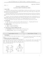 Giáo án hình học 12 cơ bản học kì 1