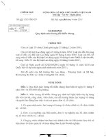 NGHI DINH 22 TĂNG LƯƠNG MỚI NHẤT CHO CAN BO CONG VIEN CHUC 1.5.2011