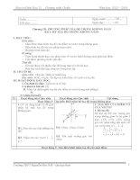 GIÁO ÁN HÌNH HỌC 12 (cơ bản)_HK2