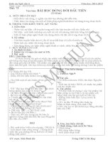 Giáo án Ngữ Văn 6 học kỳ 2 (hay)