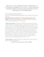 TIỂU LUẬN 1: QUÁ TRÌNH KẾT TINH CỦA HỢP KIM FeC VỚI 0.4%, 0.8%, 1.2%C KHI LÀM NGUỘI CHẬM TỪ TRẠNG THÁI LỎNG NHẬN XÉT VỀ TỔ CHỨC TẾ VI VÀ TÍNH CHẤT CỦA CÁC HỢP KIM ĐÓ