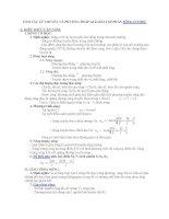 Tóm tắt lý thuyết và phương pháp giải bài tập sóng cơ học