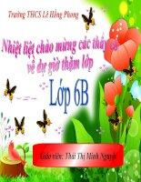 Tiết 113, văn bản Lao xao