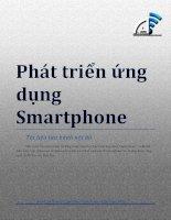 BÁO CÁO THỰC TẬP-Phát triển ứng dụng Smartphone