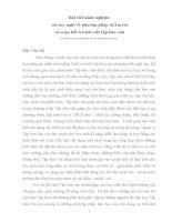Bài viết kinh nghiệm  vài suy nghĩ về phương pháp chÂm trả  và soạn tiết trả bài viết tập làm văn
