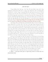 BÀI BÁO CÁO THỰC TẬP-Giới thiệu khái quát về Ngân hàng Đầu tư & Phát triển chi nhánh Bình Định.