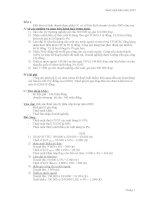 25 câu hỏi và đáp án về  Bài tập thuế