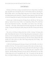 BÀI BÁO CÁO THỰC TẬP-Pháp Luật về nhượng quyền thương mại tại Việt Nam