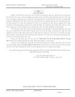 BÀI BÁO CÁO THỰC TẬP-GIỚI THIỆU TỔNG QUAN VỀ CÔNG TRÌNH -TỪ MÓNG ĐẾN MÁI