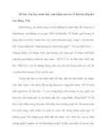 Em hãy trình bày cảm nhận của em về bài thơ Bếp lửa của Bằng Việt