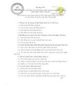 Nội dung ôn thi công chức Hà Nội 2015 phần kiến thức chung