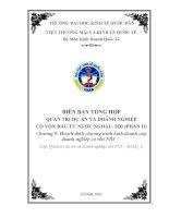 BÁO CÁO THỰC TẬP-QUẢN TRỊ DỰ ÁN VÀ DOANH NGHIỆP CÓ VỐN ĐẦU TƯ NƯỚC NGOÀI - FDI (PHẦN II)