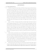 BÀI BÁO CÁO THỰC TẬP-PHÂN TÍCH TÌNH HÌNH GIAO NHẬN HÀNG HOÁ XUẤT NHẬP KHẨU TẠI CÔNG TY TNHH MTV GIAO NHẬN QUỐC TẾ UY TÍN (P.I.L CO.,LTD)