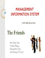 ĐỀ ÁN TỐT NGHIỆP-MANAGEMENT INFORMATION SYSTEM