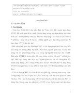 BÀI BÁO CÁO THỰC TẬP-ĐƯA ỨNG DỤNG CÔNG NGHỆ THÔNG TIN VÀO DẠY TOÁN LỚP 3