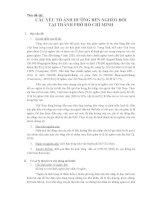 BÁO CÁO THỰC TẬP-CÁC YẾU TỐ ẢNH HƯỞNG ĐẾN NGHÈO ĐÓI  TẠI THÀNH PHỐ HỒ CHÍ MINH