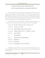 BÀI BÁO CÁO THỰC TẬP-Tổng quan về công ty TNHH XNK Hà Huy