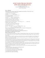 Ôn tập tiếng Anh trình B thi công chức