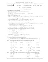 tài liệu ôn thi thpt quốc gia môn toán (Chuyên đề tổ hợp-xác suất-nhị thức newton)