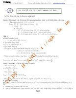 Các nguyên lý của nhiệt động lực học_Chuyên đề bồi dưỡng Vật lý 10