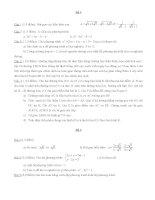 Tài liệu ôn thi vào lớp 10 môn toán tham khảo