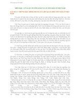 Tài liệu ôn thi LÝ LUẬN VỀ TÔN GIÁO VÀ CHÍNH SÁCH TÔN GIÁO Ở VIỆT NAM