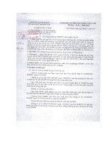 Số: 279/SGDĐT-GDMN ngày 06/4/2011 v/v Thông báo lớp tập hấn bồi dưỡng kiến thức cho GV, CD tham gia Hội thi