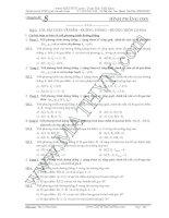 tài liệu ôn thi thpt quốc gia môn toán