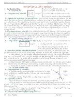 Đề cương ôn tập học kỳ 2 Lý 9.