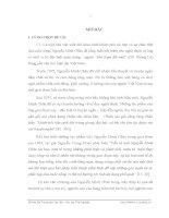 Một số cốt truyện trong truyện ngắn Nguyễn Minh Châu