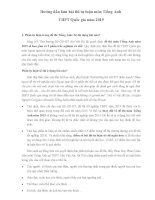Hướng dẫn làm bài thi tự luận môn Tiếng Anh THPT Quốc gia năm 2015