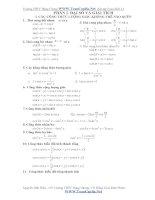 bài tập toán lớp 11 hay