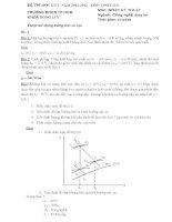 Bộ đề thi học kỳ 1 môn nhiệt kỹ thuật năm 2012   đh CN TP HCM