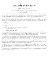 Học tốt ngữ văn 10 tập 2