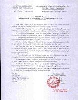 Số: 747/TB-SGDĐT ngày 06/4/2011 Thông báo v/v treo cờ Tổ quốc và nghỉ giỗ Tổ Hùng Vương năm 2011