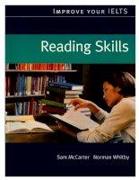 Củng cố kĩ năng đọc hiểu tiếng anh cho kì thi IELTS
