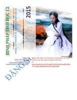 BINH PHÁP SINH học 12 ,lý thuyết và phương pháp giải bài tập sinh học 12