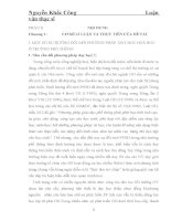 """MỘT SỐ XU HƯỚNG ĐỔI MỚI PHƯƠNG PHÁP DẠY HỌC HOÁ HỌC Ở TRƯỜNG PHỔ THÔNG """""""