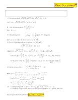 Tổng hợp phương trình bất phương trình hệ phương trình có giải chi tiết