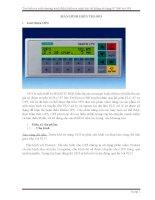 Tìm hiểu và viết chương trình điều khiển và cảnh báo hệ thống sử dụng S7 300 và OP3