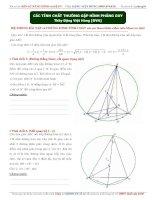 7 tính chất hình học phẳng