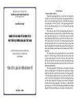 tóm tắt   Nghiên cứu các nhân tố tác động tới sự phát triển thị trường xăng dầu ở Việt Nam.