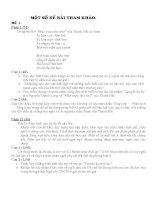 Một số bài tập ôn thi vao 10