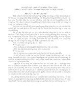 """CHUYÊN ĐỀ """" PHƯƠNG PHÁP TẬP LUYỆN NÂNG CAO SỨC BỀN CHO HỌC SINH TRUNG HỌC CƠ SỞ"""