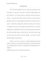 PHÂN TÍCH ĐÁNH GIÁ THỰC TRẠNG VÀ ĐỀ XUẤT CÁC GIẢI PHÁP NHẰM NÂNG CAO HOẠT ĐỘNG SẢN XUẤT KINH DOANH CỦA CÔNG TY CỔ PHẦN NƯỚC GIẢI KHÁT SÀI GÒN  TRIBECO