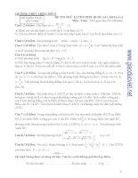đề thi thử thpt quốc gia 2015 môn toán