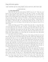 SKKN HIỆU TRƯỞNG QUẢN LÍ HOẠT ĐỘNG NGOÀI GIỜ LÊN LỚP Ở TIỂU HỌC
