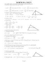 Bài tập hinh học 12(có lời giải)