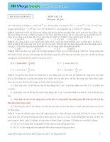 Tuyệt đỉnh luyện đề thi THPT môn Lý